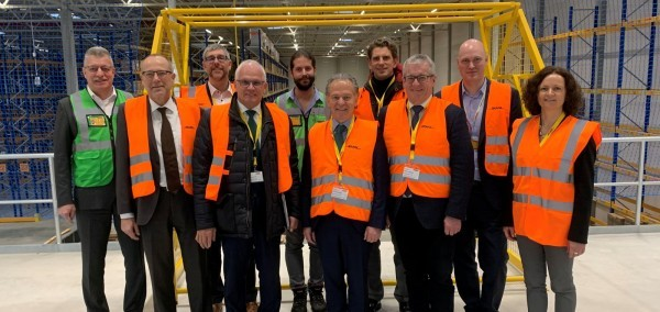 9. Januar 2020:  Besuch bei DHL Supply-Chain in Simmern